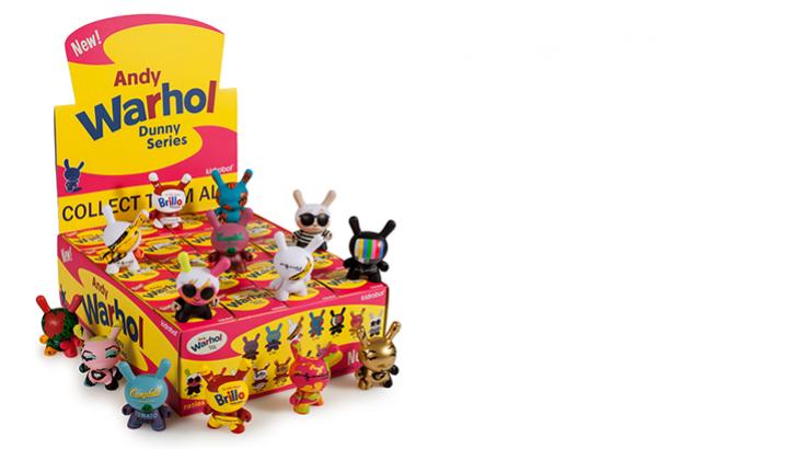 Kidrobot Andy Warhol
