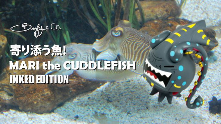 """BeeFy & Co.'s """"Mari the Cuddlefish 'Inked Edition'"""" for DCon!"""