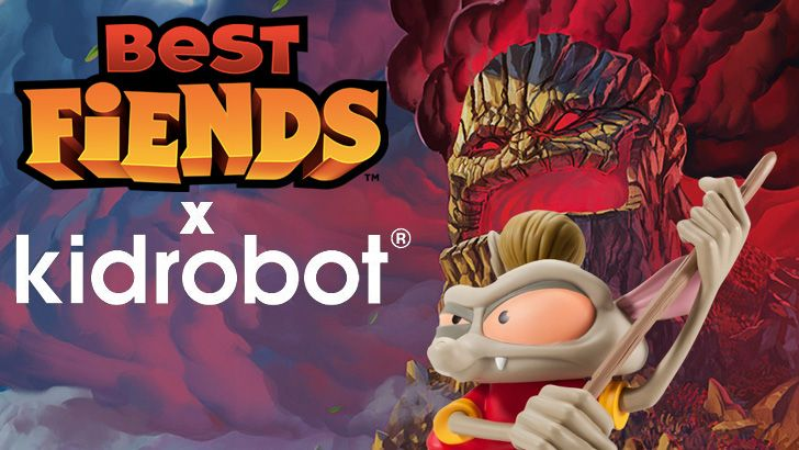 Kidrobot and Seriously to Release New Best Fiends Figure!
