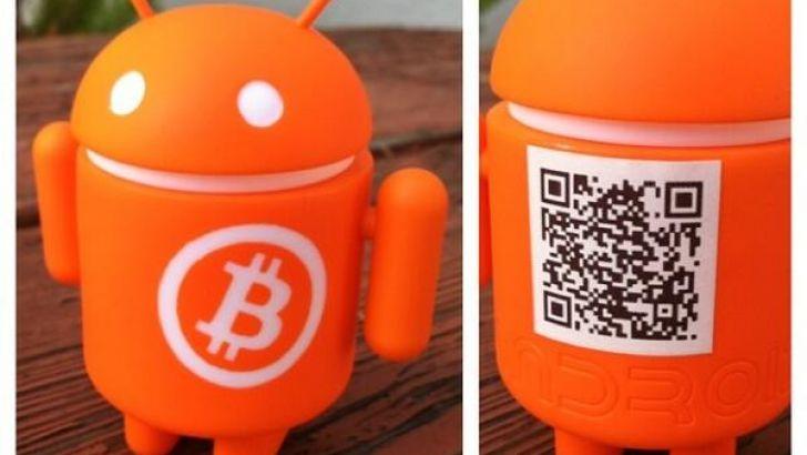 bitcoin android mini collectible