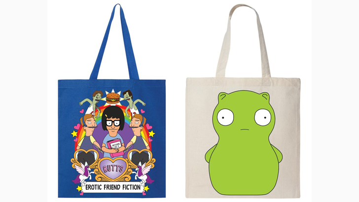 Limited Edition Quot Bob S Burgers Quot Bags From Spoke At Nycc