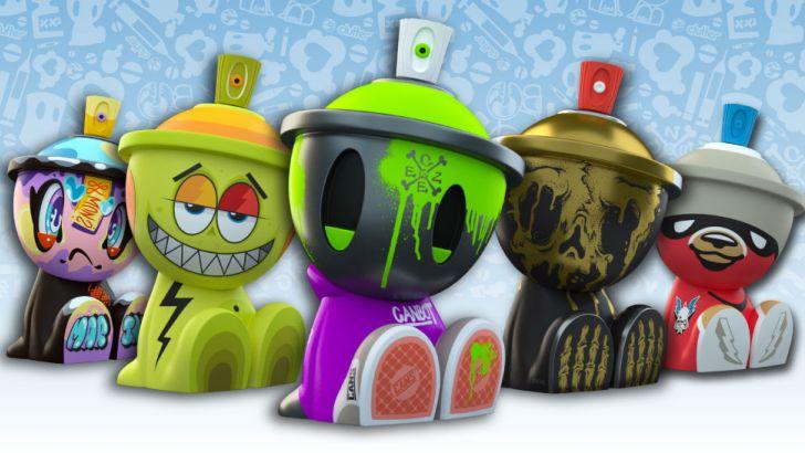 3oz Canbot Blindbox Series!! 3oz Canbot Blindbox Series!!