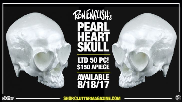 Ron English's Pear Heart Skull Release!