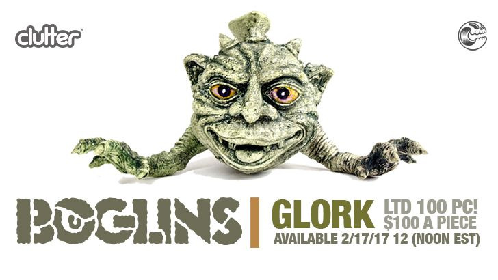 EVOLVED BOGLIN - GLORK!