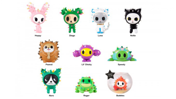 Cactus Pets Blindbox Series By Tokidoki Clutter Magazine