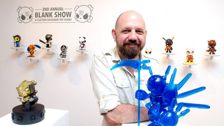 Clutter Gallery Presents: The 2nd Annual Blank Show opening recap!