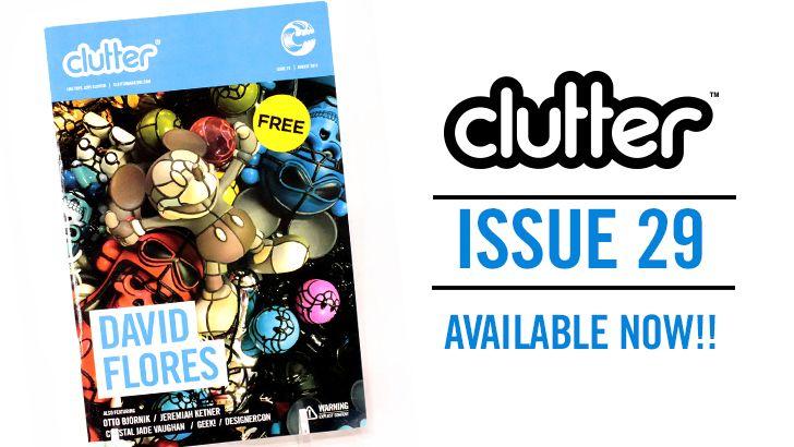 David Flores Clutter Magazine Issue 29
