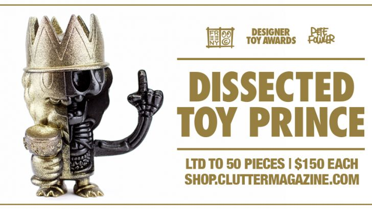 Black Friday Special Release: Jason Freeny - Dissected Toy Prince (All that Glitters Edition)