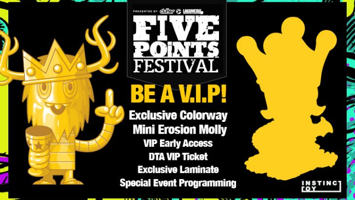 Five Points Festival VIP exclusive announced!