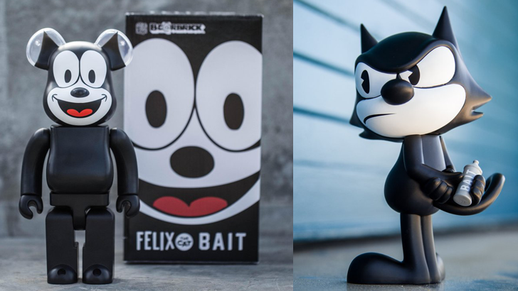 Three Felix the Cat Figures at BAIT for SDCC