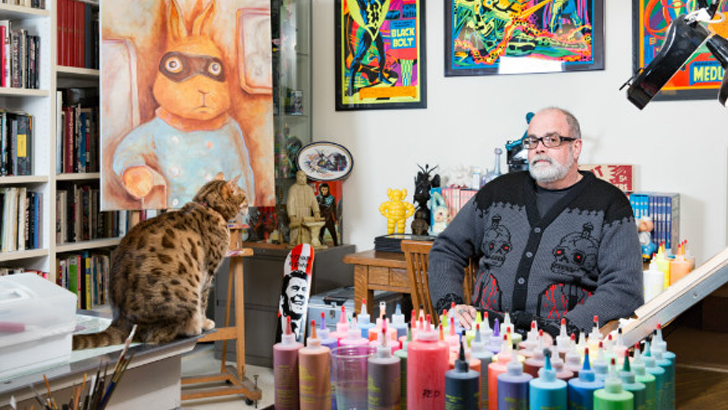 Frank Kozik art collection