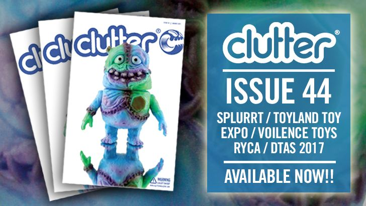 Issue 44 - 10 YEARS OF SPLURRT  OUT NOW!