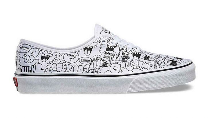 Kevin Lyons for Vans x truth Sneaker Collaboration