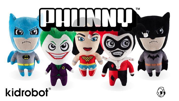 Kidrobot's DC Comics PHUNNY Coming Soon!
