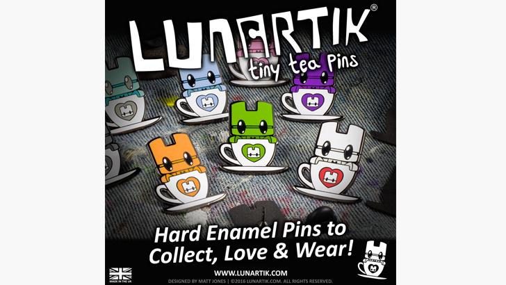 Lunartik Enamel Pins
