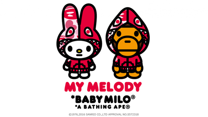 BAPE x My Melody Full Reveal, Drops 8/27 | Clutter Magazine