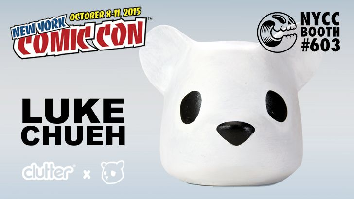 Luke Chueh's Everyone Needs A Lot Of Head from Clutter for NYCC