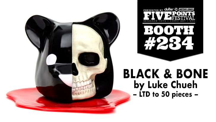 FIVE POINTS FEST EXCLUSIVE: LUKE CHUEH BLACK & BONE!