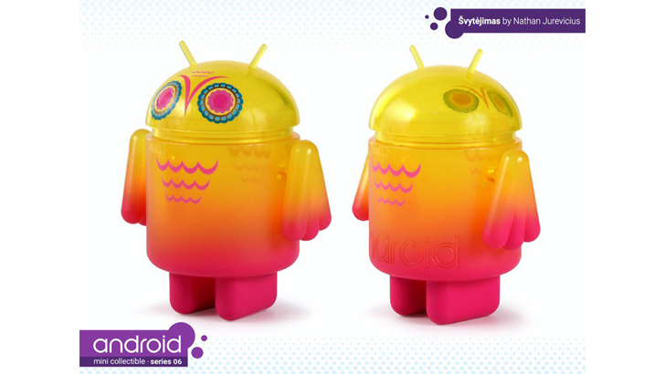 ONE BLIND BOX ANDROID SERIES 6 MINI FIGURE ANDREW BELL NATHAN JUREVICIUS