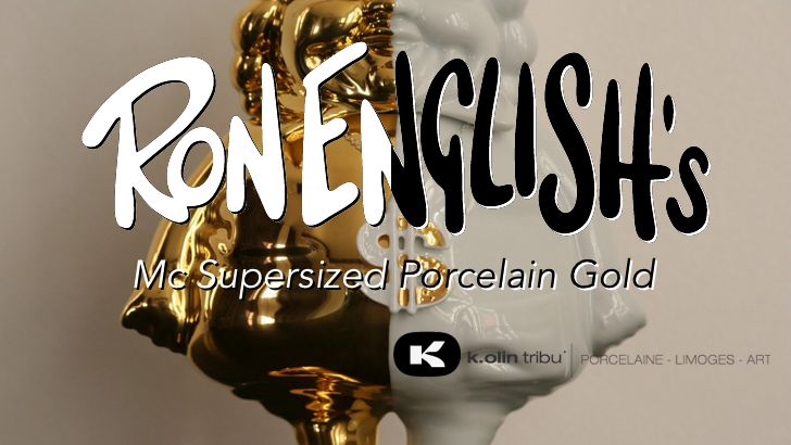 "Ron English's ""MC Supersized Gold Porcelain"" Release!"