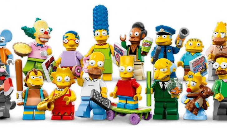 Simpsons, LEGO, Minifigure