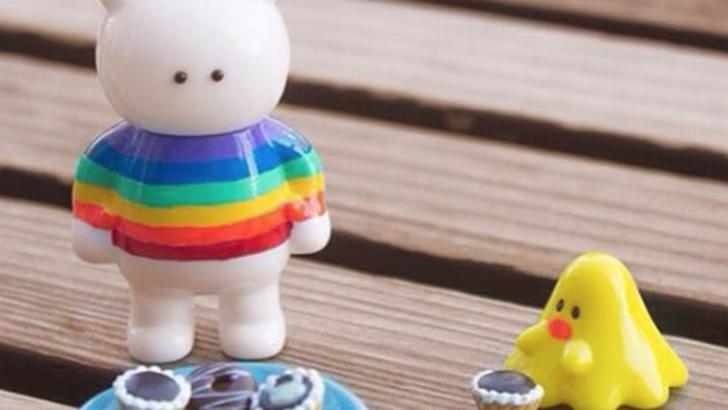 Uamou x Fluffy House | Miss Rainbow Uamou & Chicky Boo