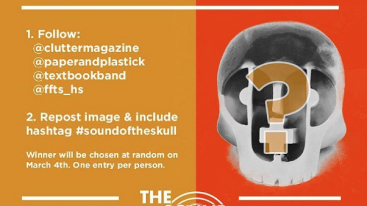 Win The Sounds of The Skull! Resin Skull from Paper + Plastick