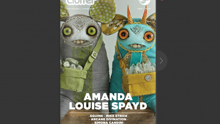 Issue 40 online for FREE now! Cover Artist Amanda Louise Spayd!