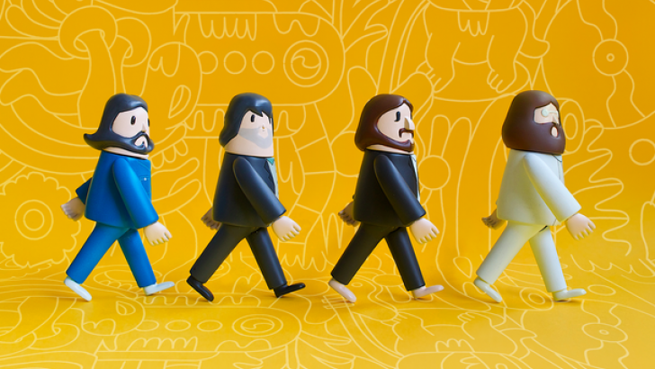Beatles Abbey Road Toys by Bito