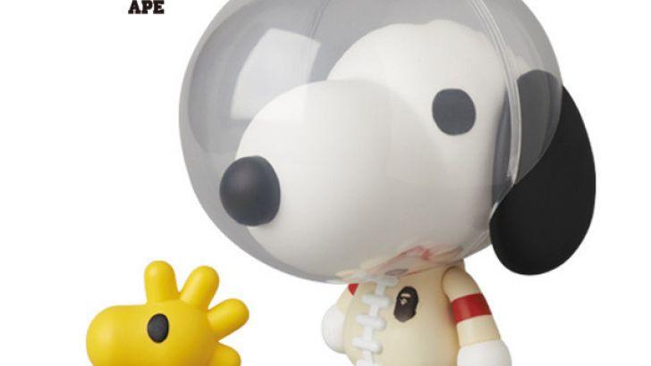 Astronaut Snoopy & Woodstock from Peanuts x BAPE x Medicom ...