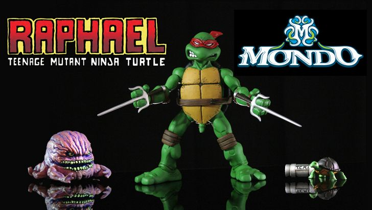 Mondo's TMNT Raphael 1/6th Scale Figure Available Now!