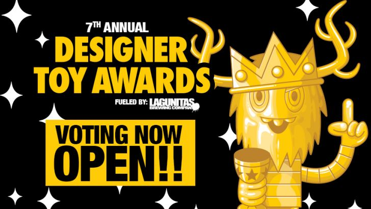 VOTING is now OPEN for the 7th Annual Designer Toy Awards!
