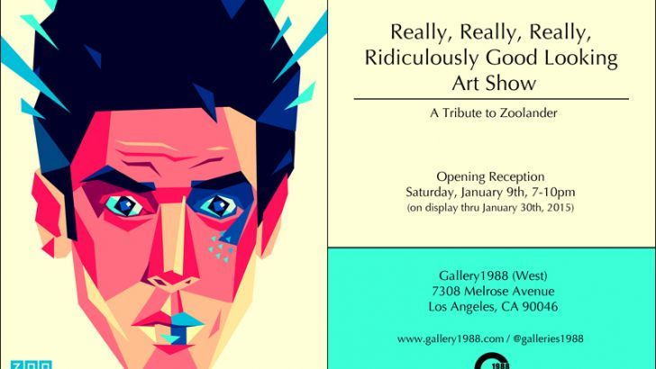 Zoolander Tribute Art Show at Gallery1988