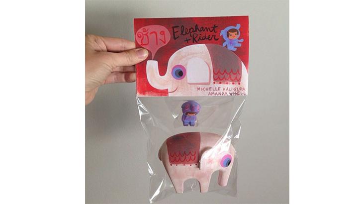 Amanda Visell & Michelle Valigura Elephant and Rider Set