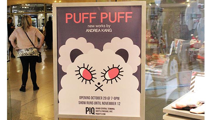 Andrea Kang Puff Puff at P!Q Roundup
