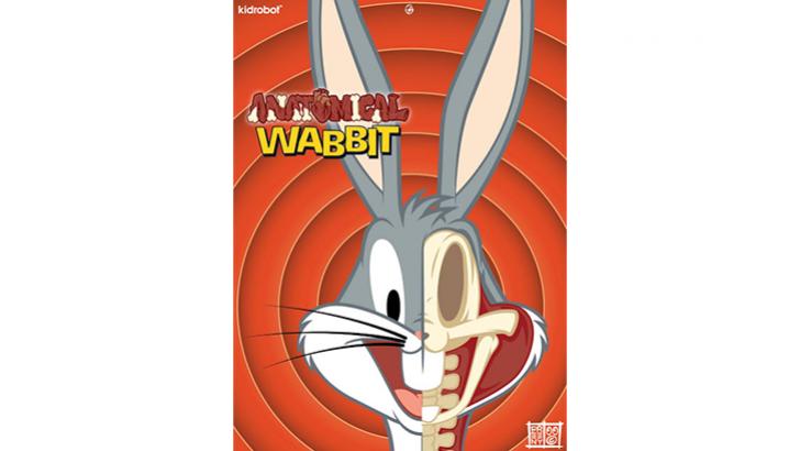 Bugs Bunny Anatomic Wabbit by Jason Freeny x Kidrobot