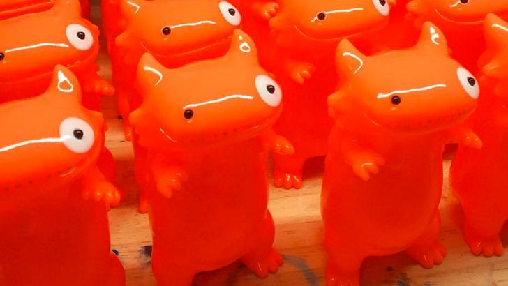 Neon Orange Byron by Shoko Nakazawa