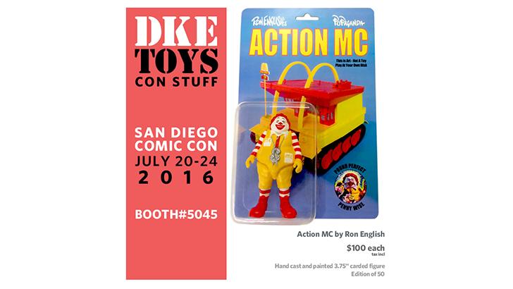 DKE Toys SDCC Exclusives
