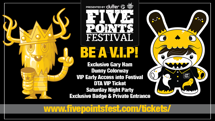 Five Points Fest VIP Ticket!
