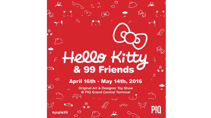 Hello Kitty & 99 Friends at PIQ Grand Central