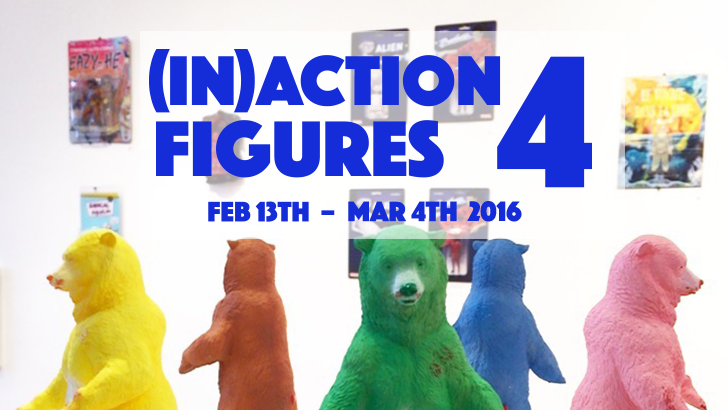(In)Action Figures 4 round up @ Clutter Gallery!