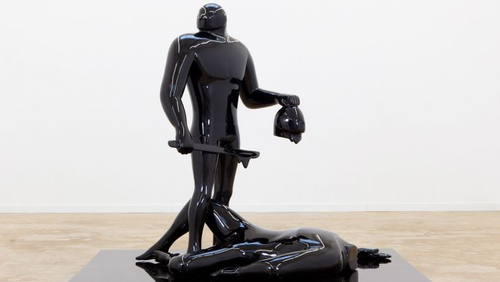 The Judgement by Cleon Peterson at plus one gallery