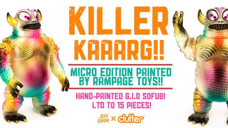 Killer Kaaarg by Rampage Toys x Jeff Lamm!