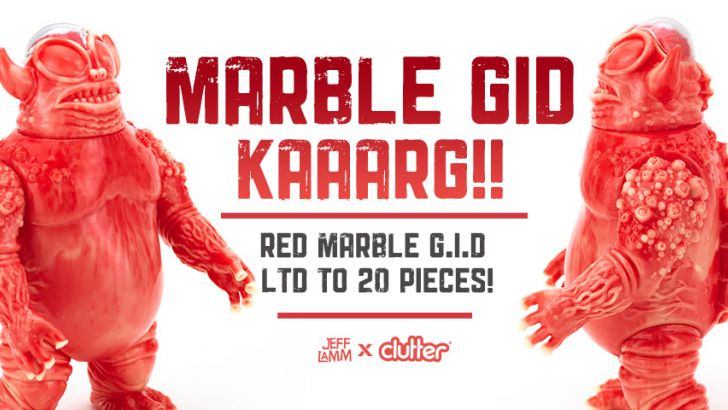 The Unpainted Red & GID MEAT Marbled Kaaarg!