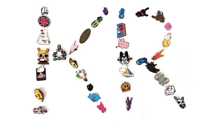 Kidrobot Pinning & Winning Enamel Pin Series