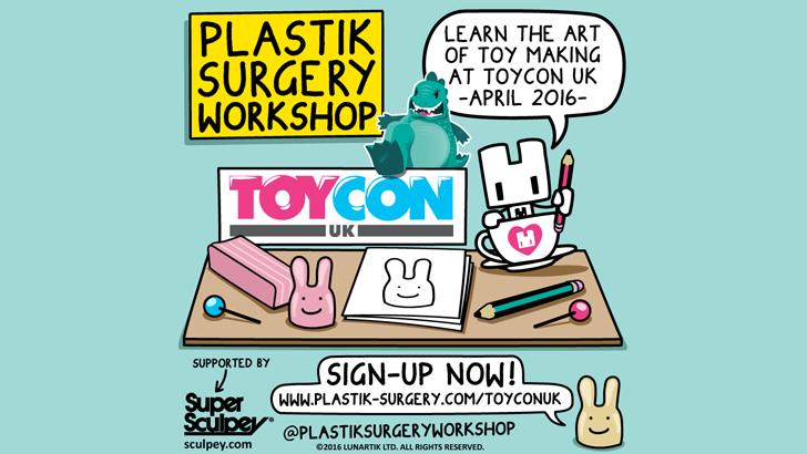 Lunartik at ToyCon UK