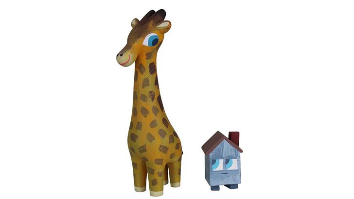 Amanda Visell & Michelle Valigura Giraffe and House Set