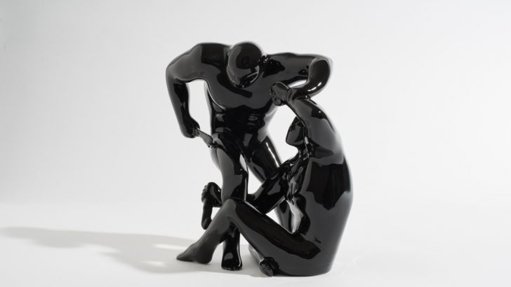 Destroying the Weak Black Edition by Case Studyo & Cleon Peterson