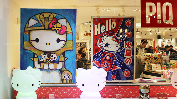 Hello Kitty & 99 Friends at PIQ Grand Central Roundup