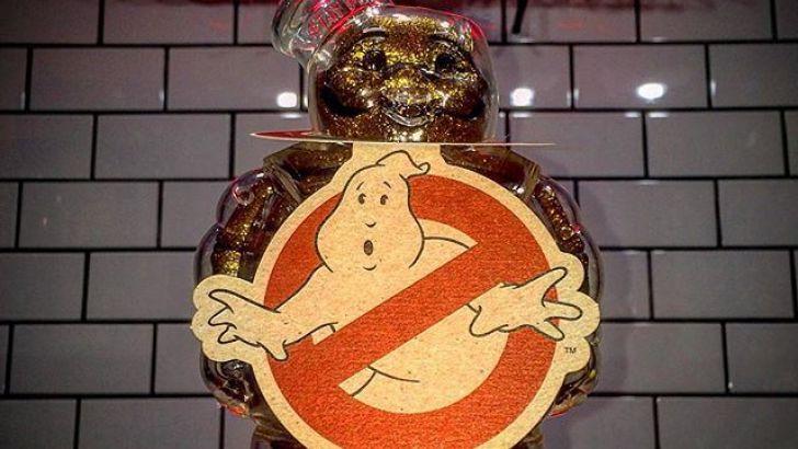 X-Ray Stay Puft Marshmallow Man Sofubi by Secret Base